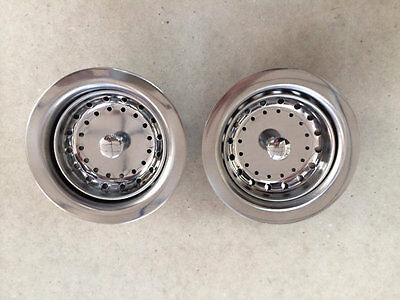 2 NEW Kitchen Sink Basket & Strainers Mobile Home Parts