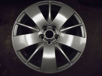 "mg zt rover 75 starspoke 17"" alloy wheels refurbished Connoisseur etc"