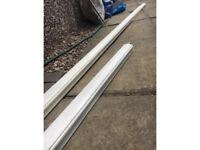 Free wooden stair hand rail