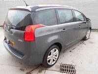 2011 Peugeot 5008 2.0 Hdi 7 Seats 150 BHP - DAMAGED REPAIRABLE SALVAGE