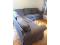 IKEA EKTORP LARGE CORNER SUITE IN AS NEW CONDITION