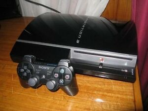 PS3 phat with one controller