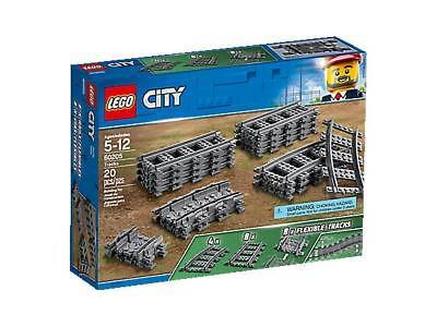 COSTRUZIONI LEGO CITY 60205 BINARI DRITTI CURVI FLESSIBILI