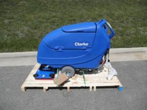 "Clarke Boost 28"" Automatic Floor Scrubber - Just in!"
