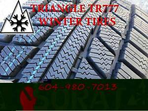 WINTER - TIRES 235/75/15 TRIAGLE TR777 SNOW LION FREE INSTAL
