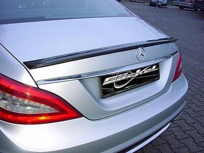 Mercedes Benz CLS 218 AMG - Look Carbon Heckspoiler 3D Carbon Oberfläche