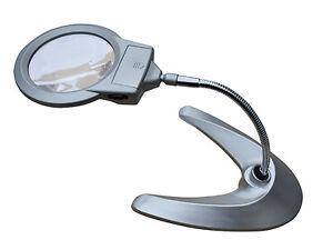 magnifying lamp table desk top adjustable glass magnilamp. Black Bedroom Furniture Sets. Home Design Ideas