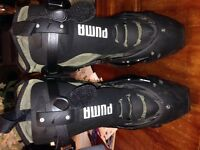 Puma motorcycle boots size 12