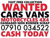 079100 34522 SELL MY CAR VAN FOR CASH BUY YOUR SCRAP SCRAPPING TODAY D