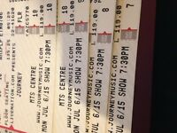 2 Journey tickets: Floor seats