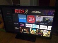 """46"""" Hitachi full HD TV - excellent condition collection Derby"""
