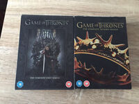 Season 1&2 of game of thrones.