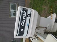 55 hp Chrysler Outboard Motor