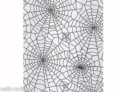 100 Halloween Spider Webs Candy Cellophane Cello Goody Treat Loot Party Bags 4x9