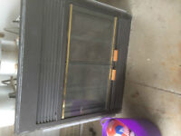 8yr old Wood Fireplace Zero Clearance Insert