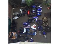 Yamaha Yzf r125 replacement parts