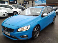 Volvo V60 2.4TD R-Design(LTD ED. POLESTAR) (HALF LEATHER+SAT NAV)