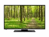 49inch LED smart TV JVC wifi builtin - FREE DELIVERY