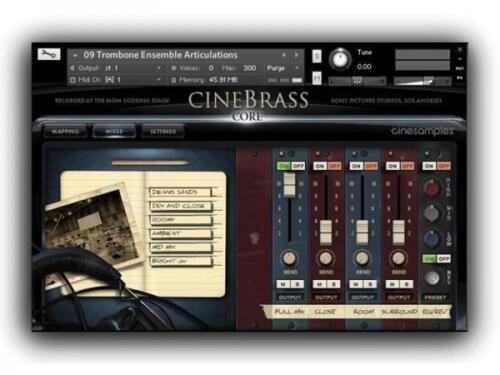 Cinesamples CineBrass Pro CineBrass Core
