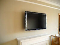 TV WALL MOUNT BRACKET  INSTALLATION SERVICE- MOUNT INCLUDED!