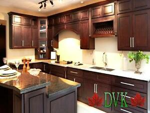 KITCHEN CABINETS ON SALE - New Chocolate Maple - $2199