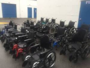 200 USED Manual WHEELCHAIRS Steel and Lightweight Aluminum s