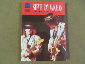 BASS GUITAR LESSON BOOK, STEVIE RAY VAUGHAN
