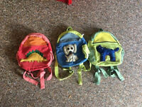 CUTE one of a kind Fairtrade Children's backpack. Only one left of each design
