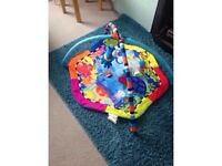 Baby Einstein Gym with electronic light & music toy