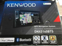 Kenwood dnx5160bts double din stereo