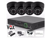 4 channel hd Cctv set fully installed amazing quality