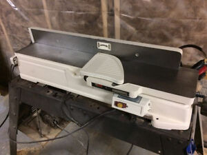 "Restored Cast iron Craftsman 6-1/8"" jointer"