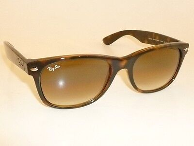 New RAY BAN Sunglasses Brown WAYFARER  RB 2132 710/51  Glass Gradient Brown (Ray Ban Glasses New Wayfarer)