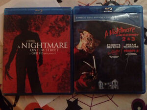 Blu ray - Nightmare on Elm Street 1-3