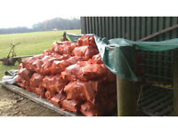 **.2YRS+ SEASONED LOGS (SOFTWOODS) - WITH FREE KINDLING - DELIVERED TO YOUR DOOR.**