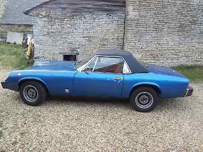JENSEN HEALEY 1972-1975 Soft Top Convertible Car Hood.