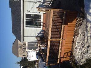 Terrasse deck sur mesure de qualité Rbq:8100-9656-21 West Island Greater Montréal image 10