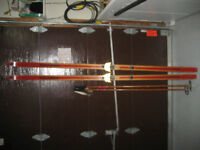 Two sets of Cross-Country skiis & poles. Excellent condition