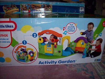 Little Tikes Activity Garden Multi-Functional Play Center….New