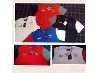 Hackett men's t shirt crew neck short sleeves 4x colours £8 each 4 for £30