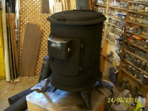 Ashley King Automatic Wood Stove & Smoke Pipes