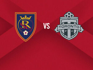 Toronto FC vs. Real Salt Lake Only $50/PAIR!!!