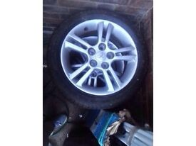 TYRE WITH ***FREE ALLOYS /FOR SALE