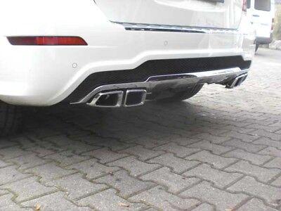 Mercedes GLK X204 AMG 63 Heckblenden Diffusor Sportendrohr Design System 4