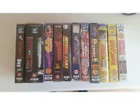 Various WWF / WWE VHS videos