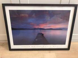 Framed Weary Bay print 73cm x 53cm £250 Selling: £150