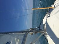 24ft sailboat in the water and fees paid for season