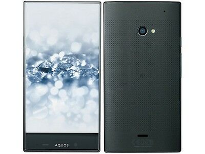 SOFTBANK SHARP 403SH AQUOS CRYSTAL 2 ANDROID UNLOCKED SMARTPHONE JAPAN BLACK NEW