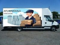 Hire Short Notice Professional Removal Service Man Van House Clearence Office Relocation UK & Europe