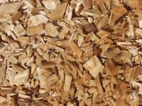 Free wood chip and logs available today only.